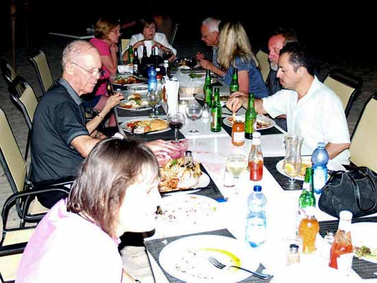 Anguilla conference dinner on the beach