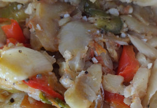 Anguilla, local food, recipe, saltfish, Little Curry House