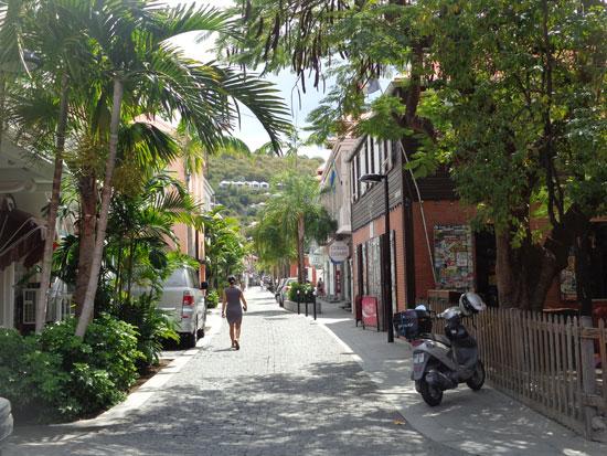 gustavia st. barths streets