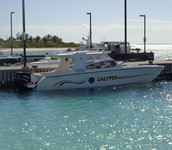 calypso charters docked in anguilla