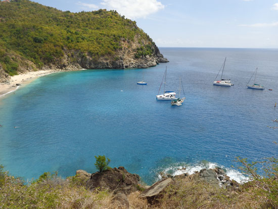 shell beach st. barths
