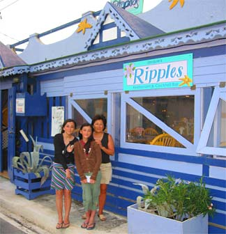 Anguilla dining Ripples