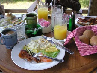 Anguilla breakfast