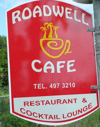 Roadwell Sign