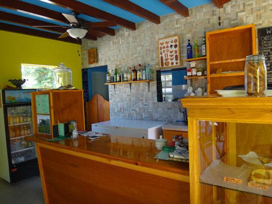 inside west indies cafe