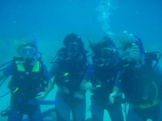 Anguilla diving, open water certification