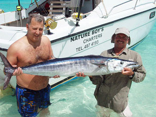 anguilla fishing with nature boy