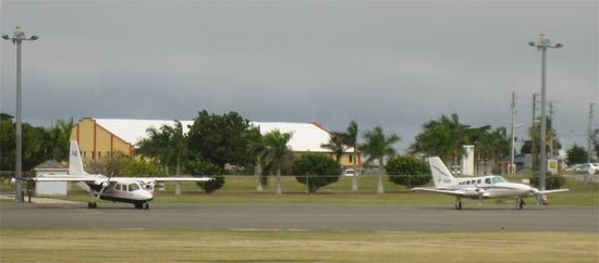 anguilla airplanes