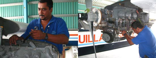 anguilla flights maintenance