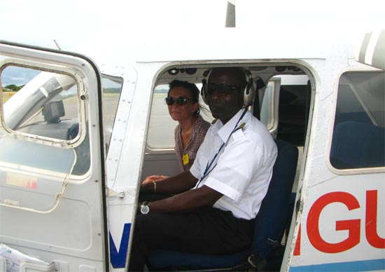 sitting in the anguilla airplane