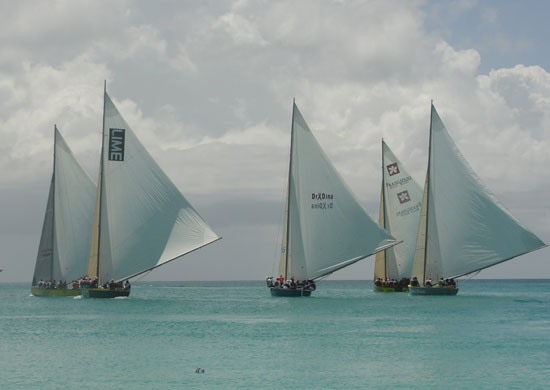 Anguilla Guide to April, boatracing, Easter Monday boatrace in Anguilla