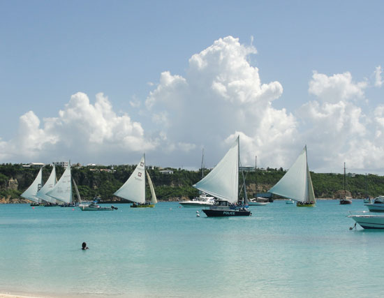 Anguilla Guide to May, Anguilla Day, Anguilla Day boatrace, Sandy Ground