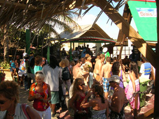 Anguilla Guide to events in March, Moonsplash, beach party, The Dune Preserve