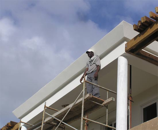 anguilla walls in new anguilla home