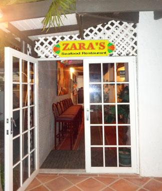 Anguilla hotels, Allamanda Beach Club, Anguilla restaurants, Zara's