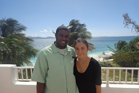 Anguilla hotels, Anguilla resorts, CuisinArt Golf Resort and Spa, Kerin, Nori Evoy