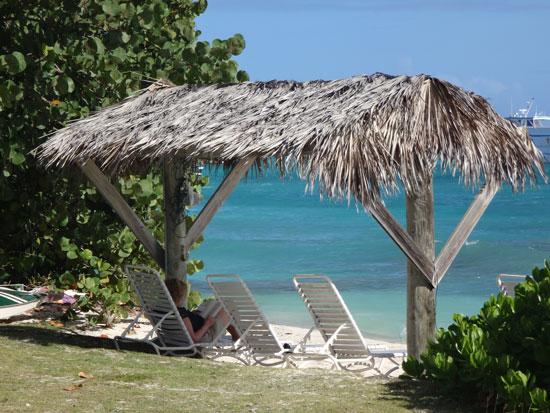 the beach at patsys seaside villas
