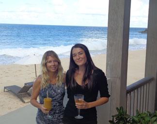Anguilla hotels, Anguilla restaurants, Half Shell, Viceroy, Nori Evoy, Kristin Bourne
