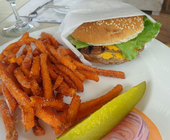 Anguilla hotels, restaurant, Viceroy, In and Out Burger