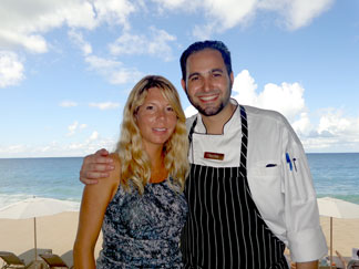 Anguilla hotels, Anguilla restaurants, Half Shell, Viceroy, Executive Sous Chef Charles Voudouris, Kristin Bourne