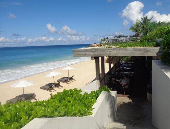 Anguilla Resort Viceroy 39 S Half Shell Restaurant