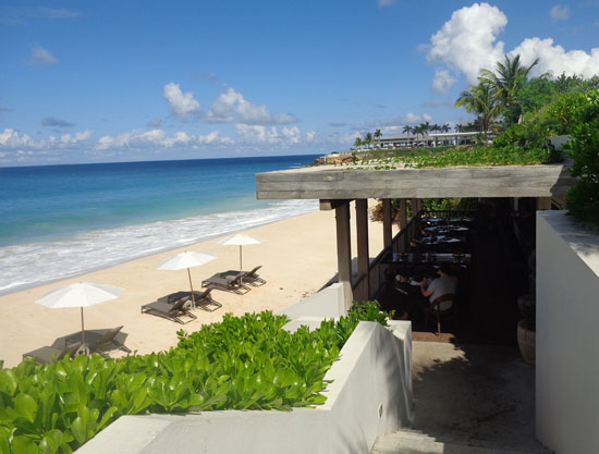 Anguilla hotels, Anguilla restaurants, Half Shell, Viceroy, Barnes Bay Anguilla