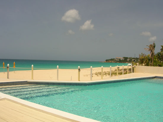 Anguilla Hotel, Turtle's Nest Beach Resort, Meads Bay, swimming pool