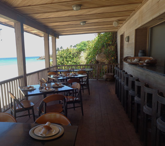 Anguilla hotels, Anguilla restaurants, Half Shell, Viceroy