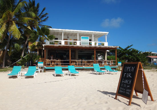 the beach at sandbar restaurant