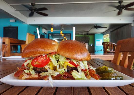 sandbar burger for lunch