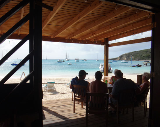 sandbar dining room during the day