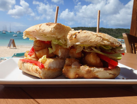 sandbar fish sandwich for lunch