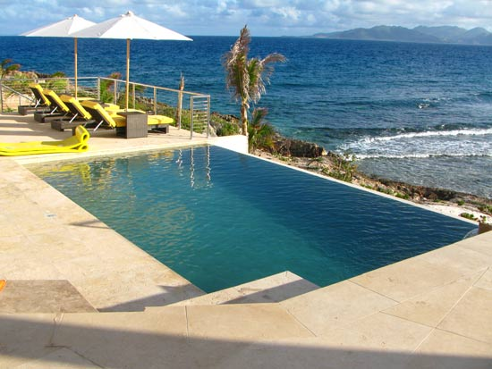 anguilla luxury pool