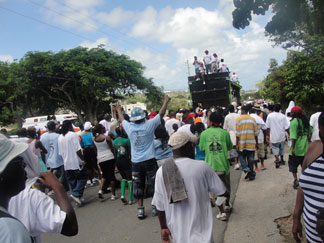 Anguilla Carnival Jouvert Road March