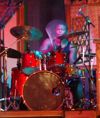 Anguilla music, British Dependency, live music, band, drums, drummer, Jaiden Fleming