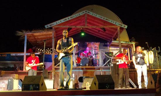 Anguilla music, live music, Omari Banks, Eleven, Bankie Banx, Moonsplash, The Dune Preserve
