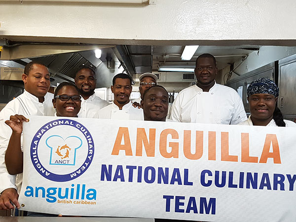 anguilla international culinary team