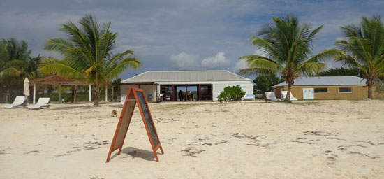 Anguilla restaurant, Rendezvous Bay, new restaurants, The Place