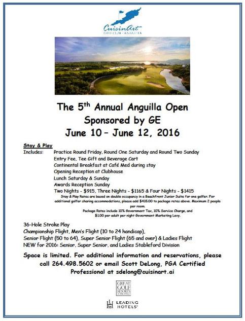 anguilla open 2016