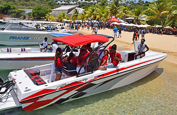 Anguilla poker run carnival