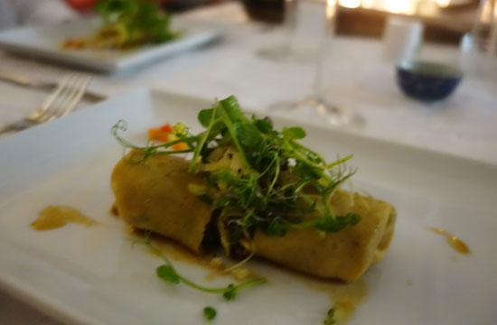 chef denise carr asian style slow cooked duck wrapped in pancake