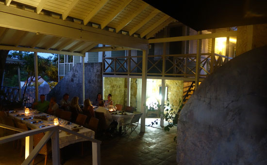 anguilla pop up restaurant at village bakehouse
