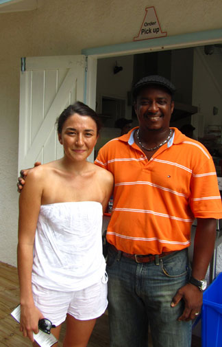 Anguilla restaurant, A Burger, Anguilla picnic, Lower South Hill