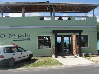 Anguilla restaurant, On Da Rocks, Island Harbour