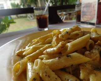Anguilla food, Anguilla restaurants, Andy's Restaurant, kid-friendly, Anguilla lunch, Anguilla dinner, fish pasta