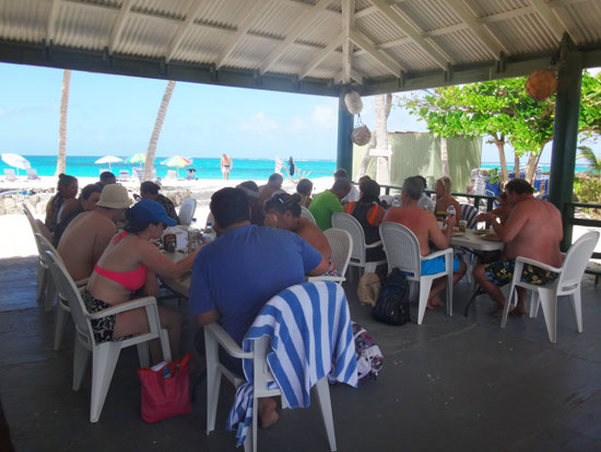 st. maarten guests in anguilla at prickly pear