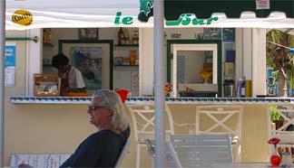 Shoal Bay East restaurant