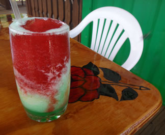 natural mystic frozen drink
