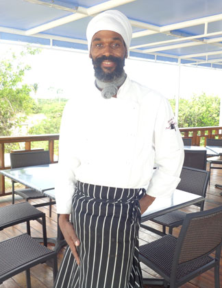 Anguilla restaurants, Ocean Echo, Anguilla dining, Anguilla lunch, Meads Bay, Chef Sylvester
