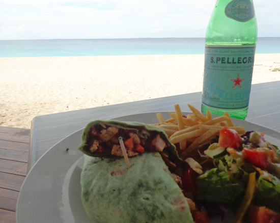 Anguilla restaurants, Ocean Echo, Anguilla dining, Anguilla lunch, Meads Bay